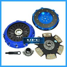 UFC STAGE 4 CLUTCH KIT+FORGED RACE ALUMINUM FLYWHEEL LANCER EVO EVOLUTION 7 8 9