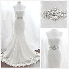 Trlyc Wedding Dress Belt Bridal Belt Sash Belt Pearls Belt Rhinestone Belt Cr...