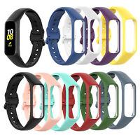 Silikon Ersatzarmband Uhrenarmband Gurt für Samsung Galaxy Fit 2 SM-R220 Uhr HY