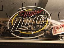 Miller Lite Beer Man Cave Neon Light Sign 17x14