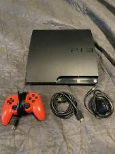 Sony PlayStation 3 PS3 slim 160gb with CFW Rebug 4.86  Multiman rebug webman