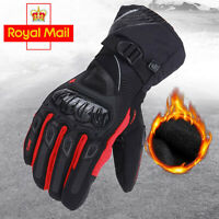 Full Finger Carbon Knuckle Protective Enduro Off Road Snow Thermal Skiing Gloves