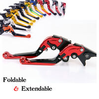 For Hyosung GT650R 2006-2012/GT250R Folding Extend Brake Clutch Levers Red