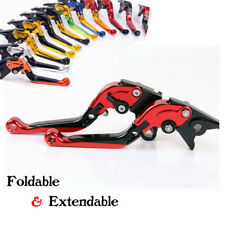 For Honda VTR1000F/Superhawk 1997-2005 Folding Extending Brake Clutch Levers
