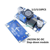 1/2/5/10PC LM2596 Power Supply Output 1.25V-35V DC-DC Converter Step Down Module