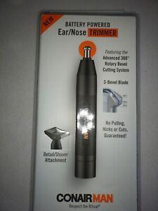 ConairMAN Battery-Powered Ear/Nose Trimmer