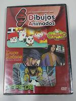 HAMTARO + DOCE REINOS + OFFSIDE DVD + EXTRAS MANGA SPANISH ED ESPAÑOL NEW NUEVA