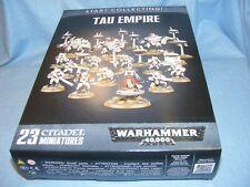 Start Collecting Tau Empire Warhammer 40k Games Workshop miniaturas 40000 Wh40k