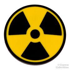 NUCLEAR SYMBOL ENAMEL LAPEL PIN DANGER RADIATION LOGO SIGN TIE TACK BADGE EMBLEM