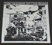 CRASS The Feeding Of The 5000 big back patch anarcho punk