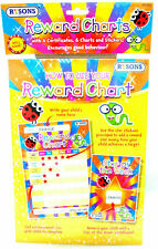 Potty / Toilet Training Reward Chart - Kids Childrens Sticker Star Certificate