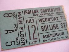 ROLLING STONES Original__1972__CONCERT TICKET STUB__Exile Main Street Tour