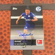 Topps Stars der Saison / Bundesliga - Amine Harit Auto - Schalke 04 -