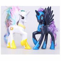 My Little Pony White Princess Celestia LUNA NIGHEMARE MOON Figure NEW GIFT