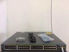 CISCO WS-C2960S-48LPS-L 48-Port Gigabit POE+ Switch SFP Uplinks 2960-S ios-15.0