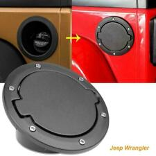Gas Tank Cap Cover Fuel Filler Door for Jeep Wrangler JK & Unlimited 2007-2018