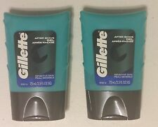 New 2 Pack Gillette Series Sensitive Skin After Shave Gel 2.5 Fl Oz