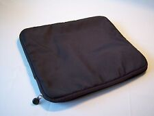 Brookstone Zip Up Canvas Ipad Protective Pouch/Case
