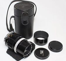 Very good++ Olympus E.zuiko Auto-t 100mm F3.5 MF Lens for Pen F FT Made In Japan