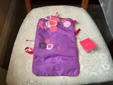 PURPLE NO7 ROLL OVER MAKE UP BAG NEW TAGS