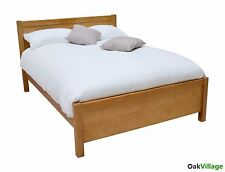 Oak Super King Bed / Solid Wood 6ft Super Kingsize / Bedroom / Brand New Dorset