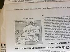 A1v ephemera article 1960s el cid moslems and christians in medieval spain