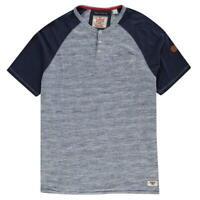 D555 Mayfair T Shirt Mens Top Tee Blue Marl Navy UK Size 3XL *REF79