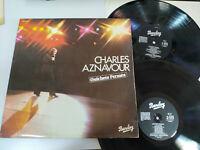 """Charles Aznavour Ghichets Fermes 1978 Barclay - 2 X LP vinyl 12 """" VG/VG"""