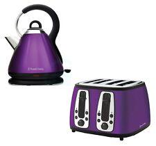 Russell Hobbs Royal Purple Heritage Kettle & Toaster Set RHT24PUR & RHK32PUR