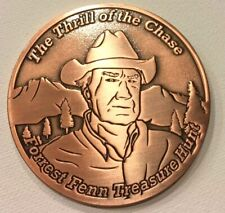 Forrest Fenn Searcher Coin #880 of 1000 Thrill Of The Chase Hidden Treasure Poem