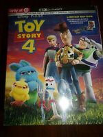 TOY STORY 4 - 4K ULTRA HD, BLURAY & DIGITAL CODE-LIMITED EDITION-FACTORY SEALED!