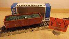 Märklin H0 4430 Véhicule spécial wagon de marchandises ouvert avec