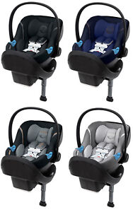 Cybex Aton M Infant Baby Car Seat w Linear Side impact Protection Safelock Base