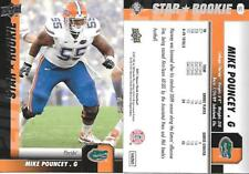 2011 UPPER DECK   STAR ROOKIE  LOT OF 2!!  #80   MIKE POUNCEY   SP!!  MIAMI!!