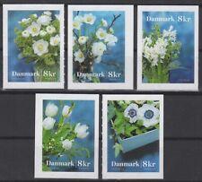 DENMARK Sc. NEW Flowers 2017 MNH