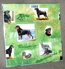 ROTTWEILER - Gift Wrapping Paper w/matching Gift Card by Maystead