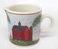 Sakura Warren Kimble Barns Creamer 1998