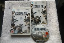 RESIDENT EVIL THE DARKSIDE CHRONICLES Wii ( action/adventure & survival horror )