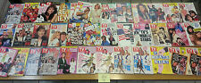 Lot of TV GUIDES 1990 to 1991