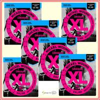 6 x D'Addario EXL150 Light 12-String Electric Guitar Strings 10 - 46 , 6 Sets