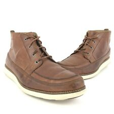 Cole Haan Grand OS Brown Leather Ankle Chukka Boots Mens Size 10.5 M C22546