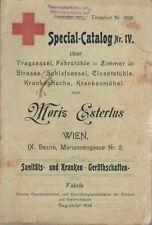 Special-Catalog Nr. IV über Tragsessel Fahrstühle für Zimmer und Strasse Schlafs