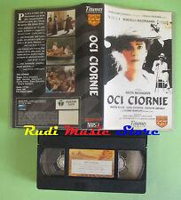 VHS film OCI CIORNIE 1988 Marcello Mastroianni Silvana Mangano DOC (F25) no dvd