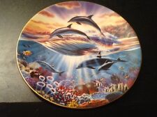 Royal Worcester FREEDOM OF THE OCEAN Collector's Plate