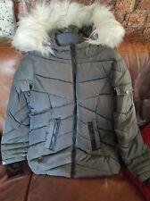 Steve Madden Charcoal Puffer Coat size S BNWT