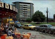 SCHIEDAM Holland Postkarte Koemarkt, Centrum, Strassen Partie parkende Autos
