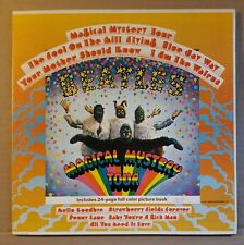 THE BEATLES Magical Mystery Tour LP with picture Book Colroband Label