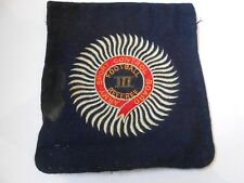 1918 -`army sport control board football referee III service worn  cloth patch