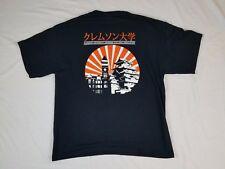 CLEMSON UNIVERSITY JAPANESE CULTURAL ASSOCIATION Mens T Shirt XL Black Orange