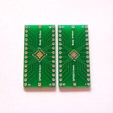 10 PCS QFN28 PCB Board Converter Pin Pitch 0.4 0.5mm QFN to DIP 2.54 Adapter B58